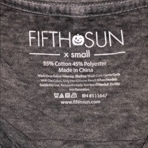 Fifth Sun Tops - Just here for the Boos ghost tank top shirt